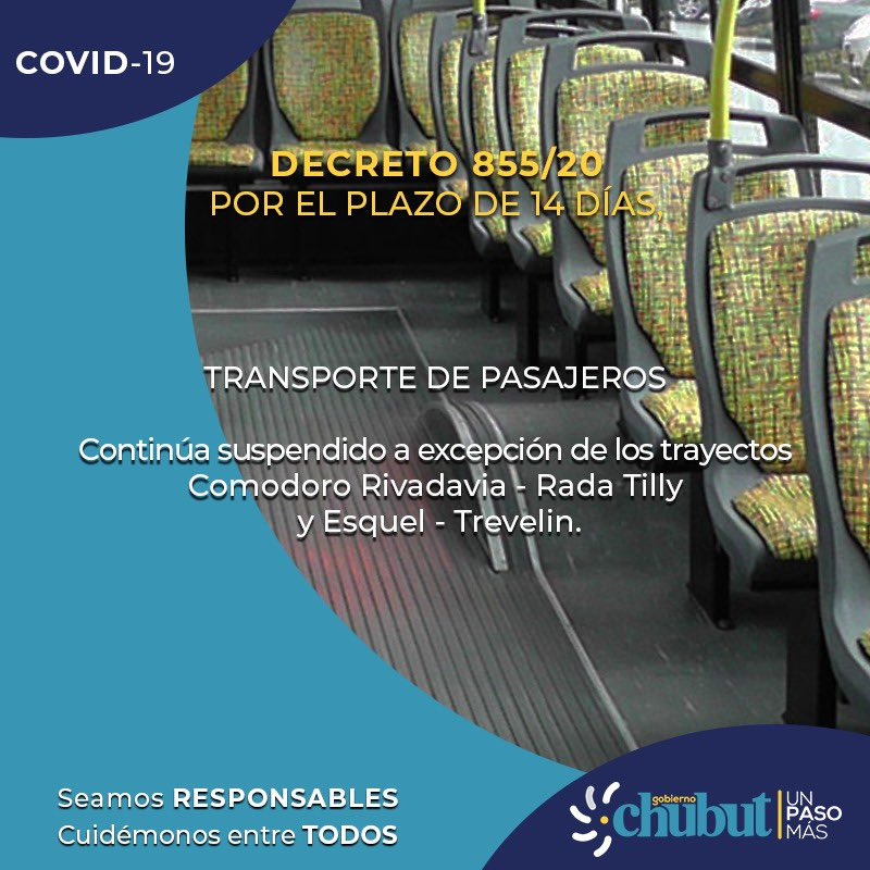 #COVID19 👉 Decreto 855/2020 👇👇 https://t.co/tOGNTGRu0U