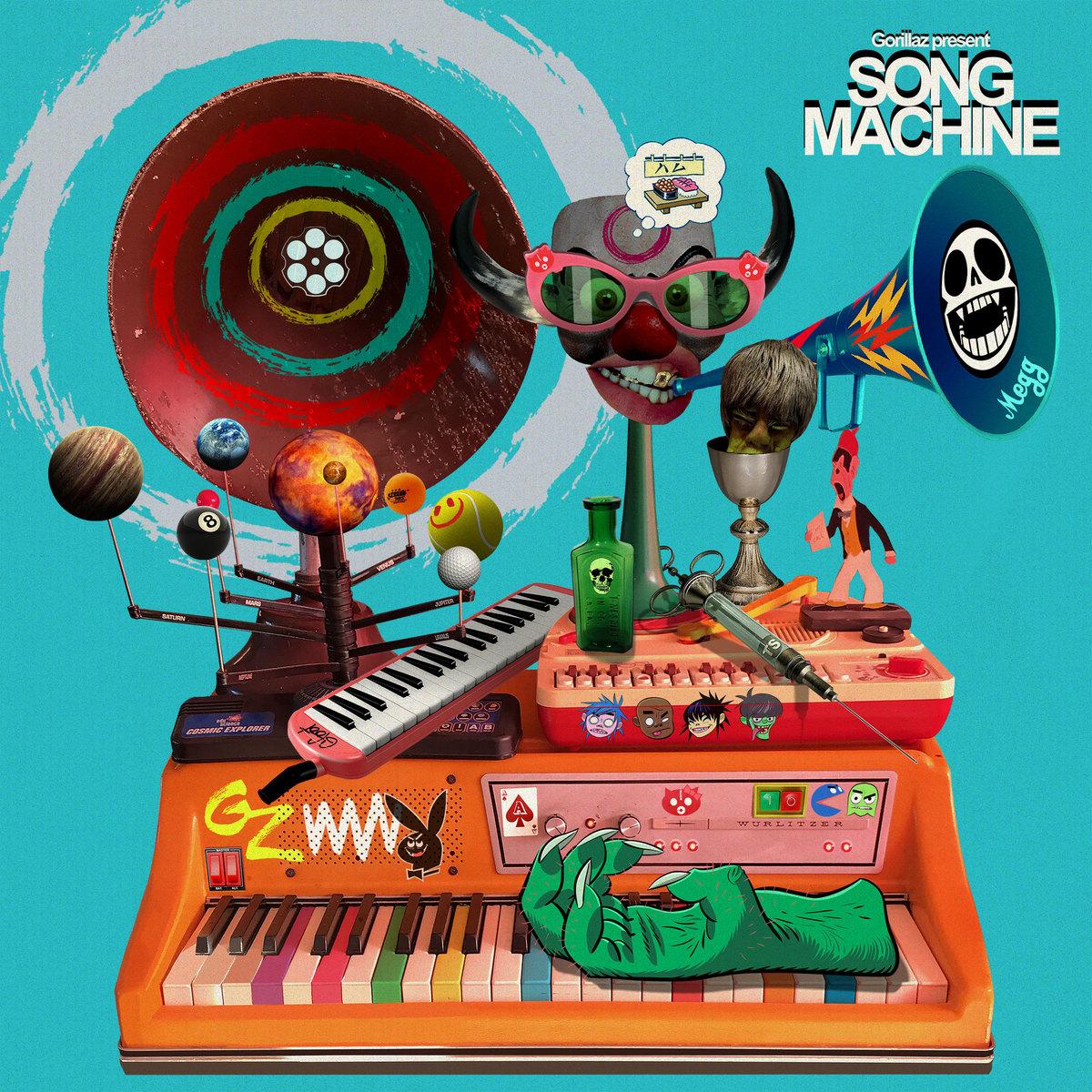 "Gorillaz Present Season One of Song Machine: ✨""STRANGE TIMEZ""✨ Pre order now 👉 https://t.co/ORlNde1Z4n https://t.co/38qllv4H3i"