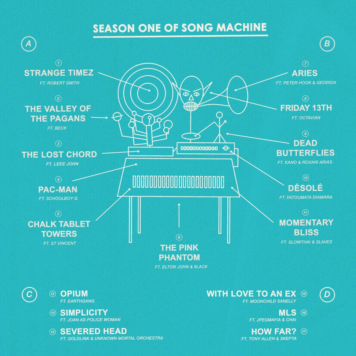 "gorillaz on Twitter: ""Gorillaz Present Season One of Song Machine:  ✨""STRANGE TIMEZ""✨ Pre order now 👉 https://t.co/ORlNde1Z4n… """