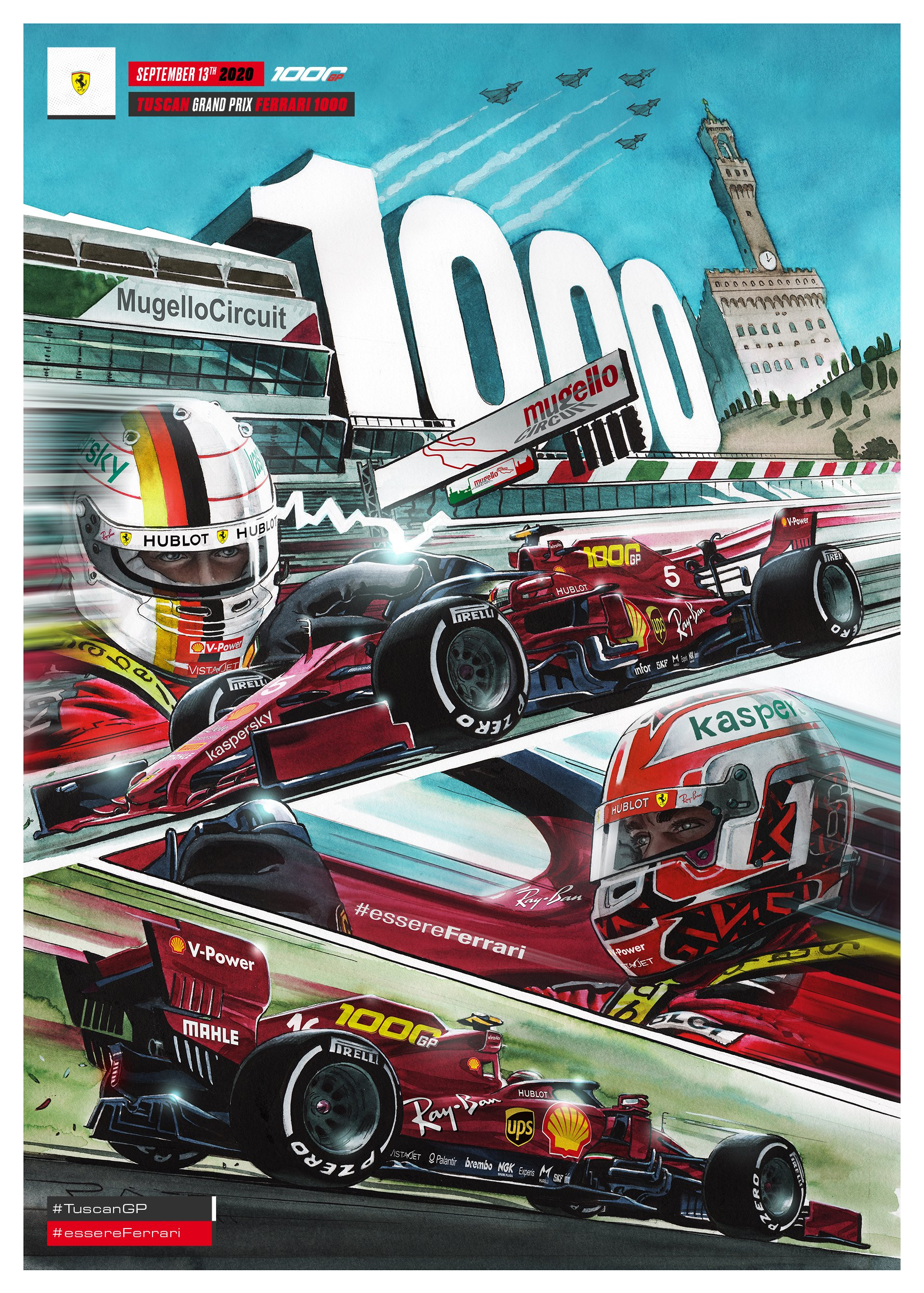 F1 ferrari gp 1000 mugello cover