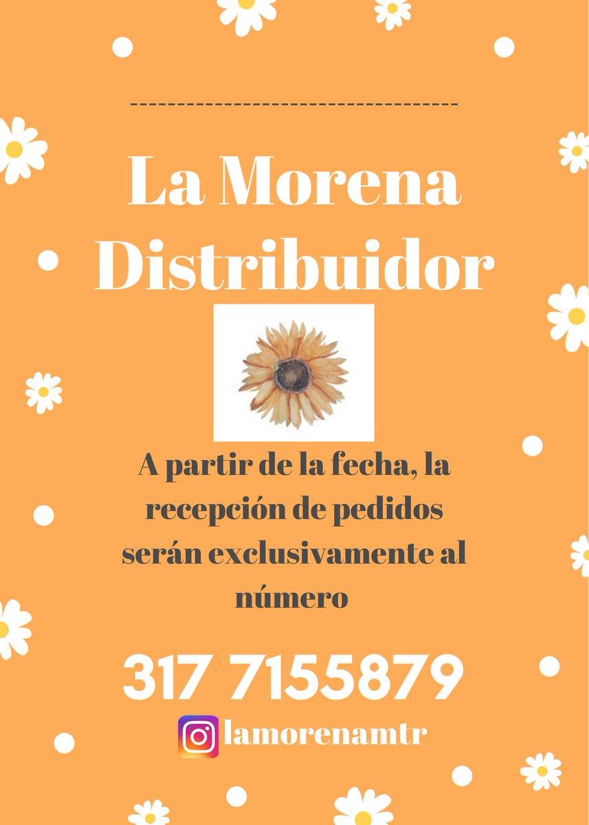Amig@s!  ¡Contacto exclusivo para pedidos de congelados y vino de corozo!  Wp: 3177155879 Dale rt 🤗 ¡Gracias por el apoyo!🌼🧡 #LaMorenaDistribuidor #CompartiendoConLaMorena  #VinoDeCorozo #Corozo #Deditos #EmpanadasDeMaiz #Empanaditas https://t.co/c37LArgH8Q