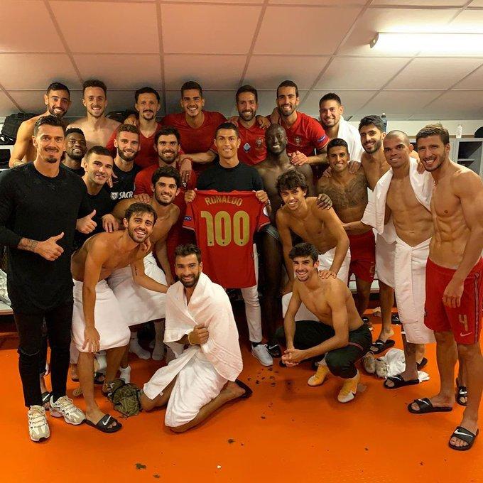 100 golos de Cristiano Ronaldo a serviço da Selecção nacional, astro utilizou as suas redes sociais para agradecer a todos