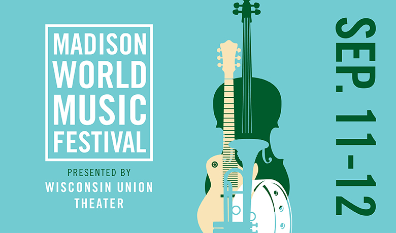 This weekend, travel the world from your home at the Madison World Music Festival! The exciting event features virtual workshops and concerts that span unique locations and cultures. Visit bit.ly/2whediU for the full schedule - make sure to sign up for email reminders!