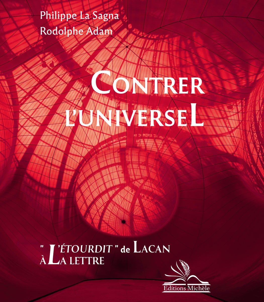 """""""1973:Lacan publie « L'Etourdit »,texte extraordinaire,(...) condensé maximum des avancées(...) de sa recherche. Renouvelant l'ambition freudienne, Lacan dialogue avec l'ensemble des savoirs humains. Avec Freud aussi, et avec lui-même.""""    Ph. LA SAGNA et R. ADAM  Paraît le 24/09 https://t.co/tfp6DZTUgW"""