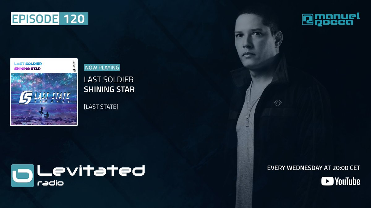 Great tune here! @LastSoldier_mus - Shining Star @LastStateRec  Tune in: https://t.co/8OWDMaCe5L #LEVITATED120 #trancefamily https://t.co/UBSjNCgEXc