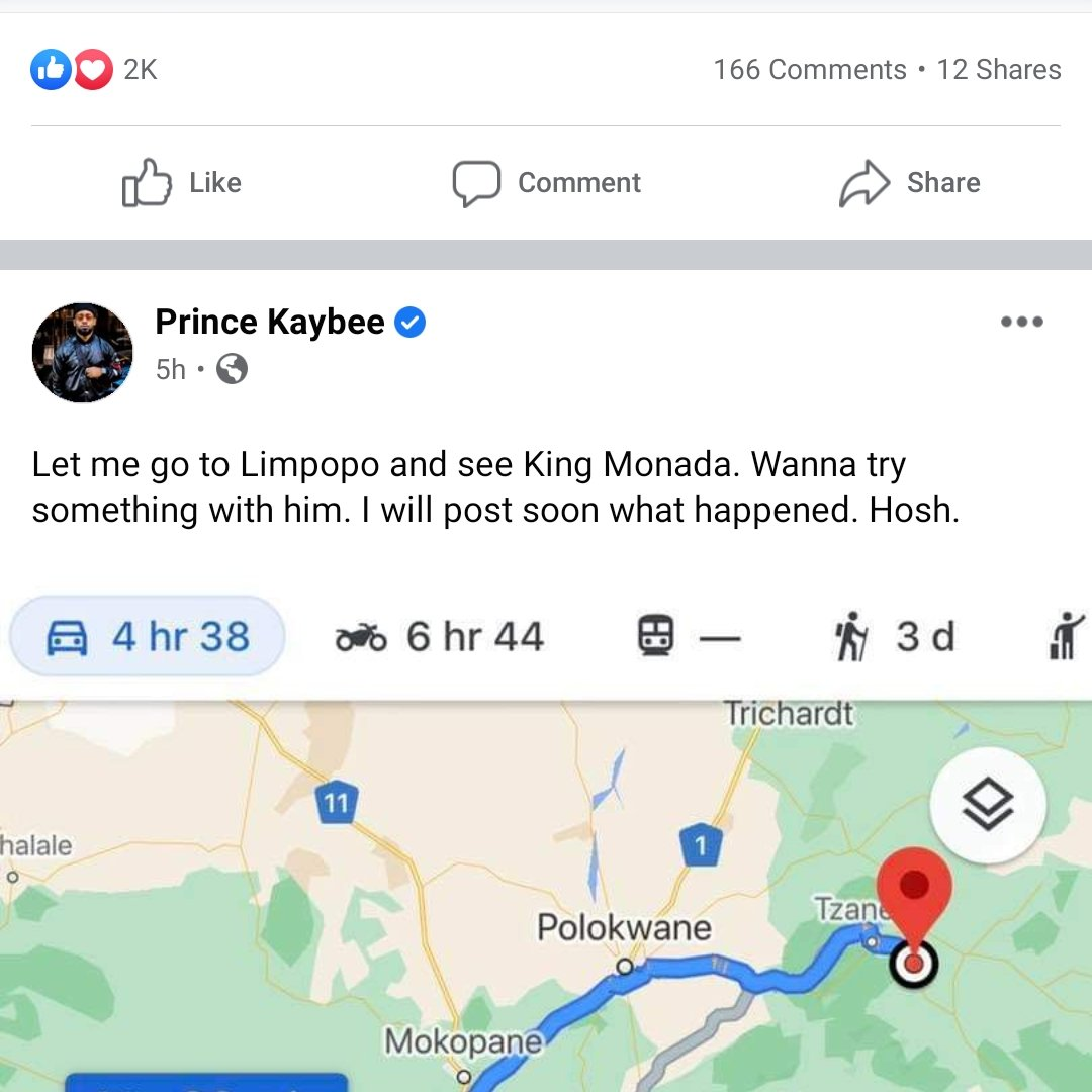 Tonight @PrinceKaybee_SA  x @Kingmonada 🎶 https://t.co/XoM3fxVfea