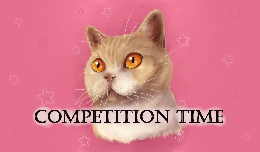 It's competition time! To celebrate 1k followers, my human will paint one of my furiends like the example of my beautiful self in the banner.  - Comment on this post to enter (followers only!) - Winner chosen by RNG on Wednesday 16th Sept 2020 #CatsOfTwitter #digitalart ♥ https://t.co/60DDIrYdKi