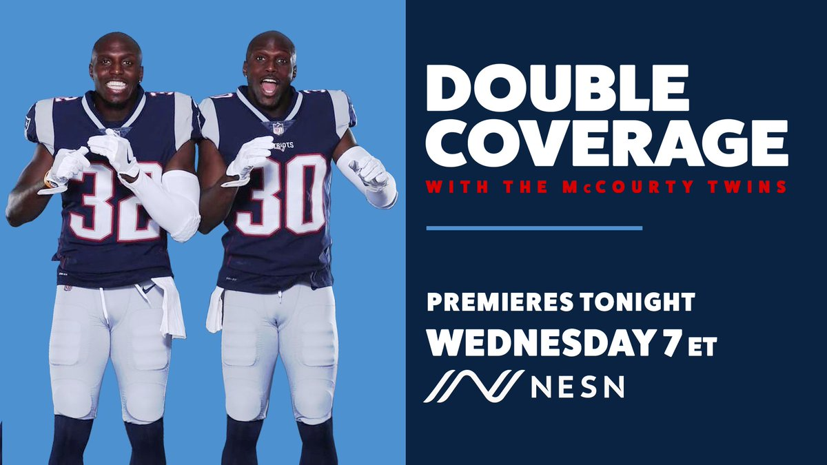 A brand new show that you don't want to miss.  We'll see you at 7 ET with @McCourtyTwins 😍 https://t.co/41hMO4x9q7