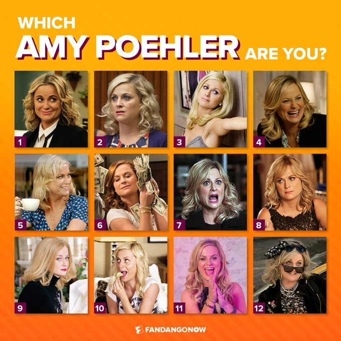 Happy Birthday to Amy Poehler! Which Poehler are you feeling like today?