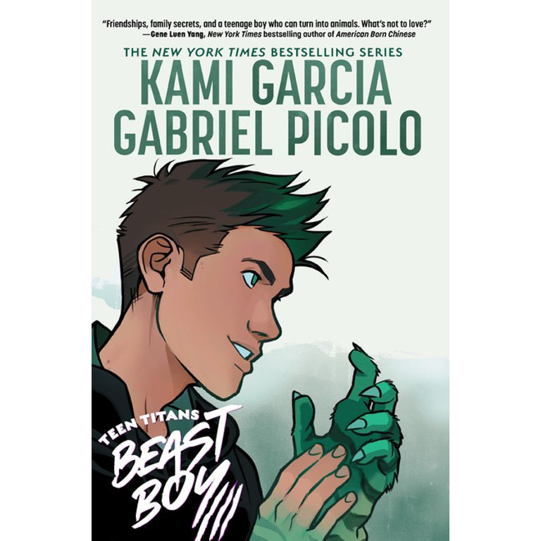HUGE congrats to @kamigarcia, @_gabrielpicolo, and the rest of the #TEENTITANS #BEASTBOY team on hitting the @USATODAY Bestseller List! 🥂 🍾