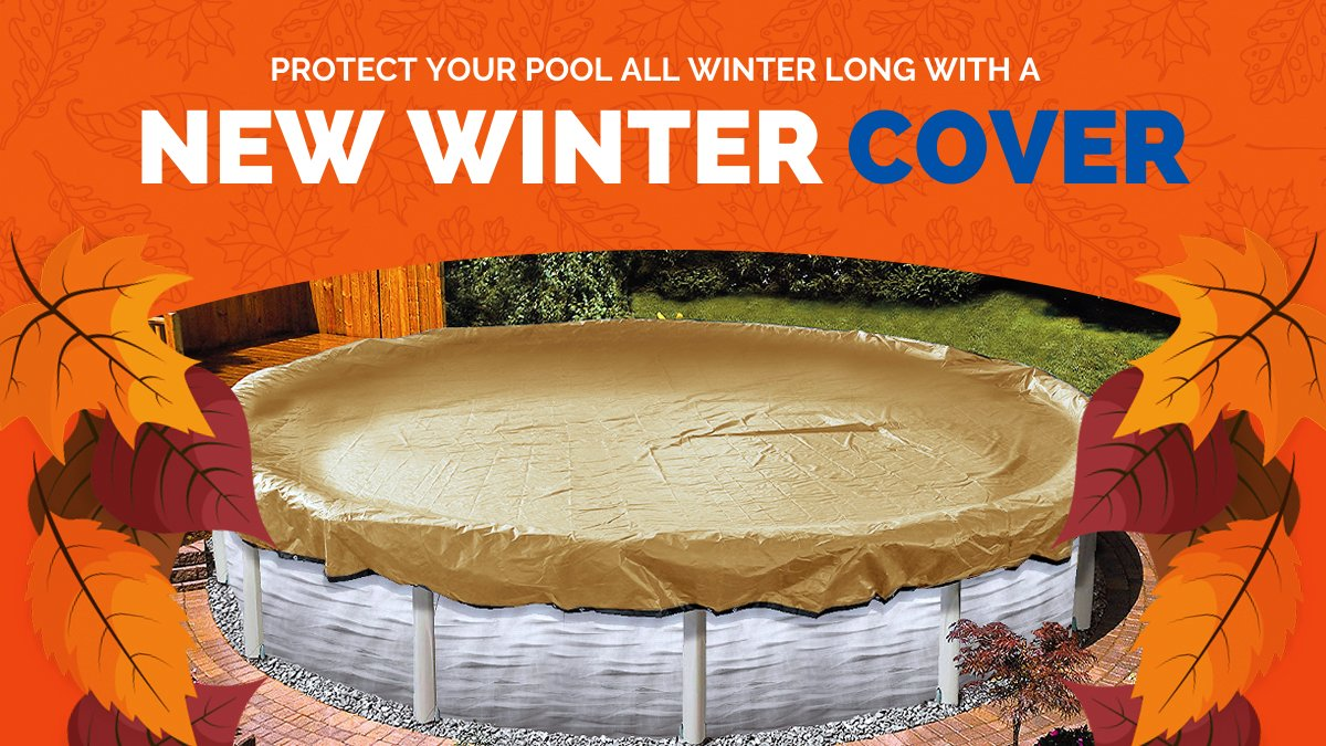 🍂 On Sale Now! Protect Your Pool with a New Winter Cover! https://t.co/UUI4uLSLYp #PoolClosing #PoolSuppliesCanada #BuyCanadian  • Lowest Prices  • Best Value  • Proven to Withstand Canadian Winters https://t.co/VkGdWh3YKY