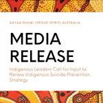 Image for the Tweet beginning: GDPSA MEDIA RELEASE  Indigenous Leaders