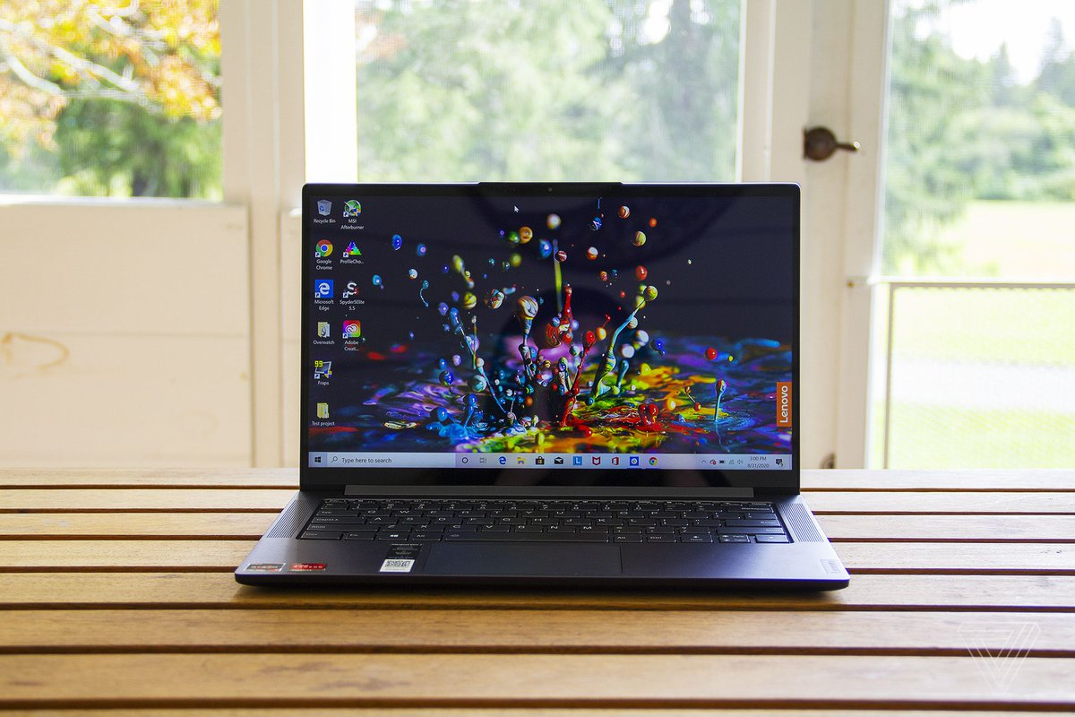Lenovo's IdeaPad Slim 7 is a showcase for AMD's exceptional new processor