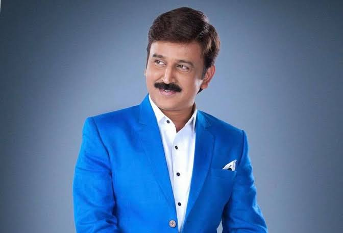 Happiest Birthday wishes to the veteran and multilingual star  @Ramesh_aravind sir.  #TeamBhairadevi is fortunate to have such a talented and versatile actor in the lead. https://t.co/PrRETTqSqo