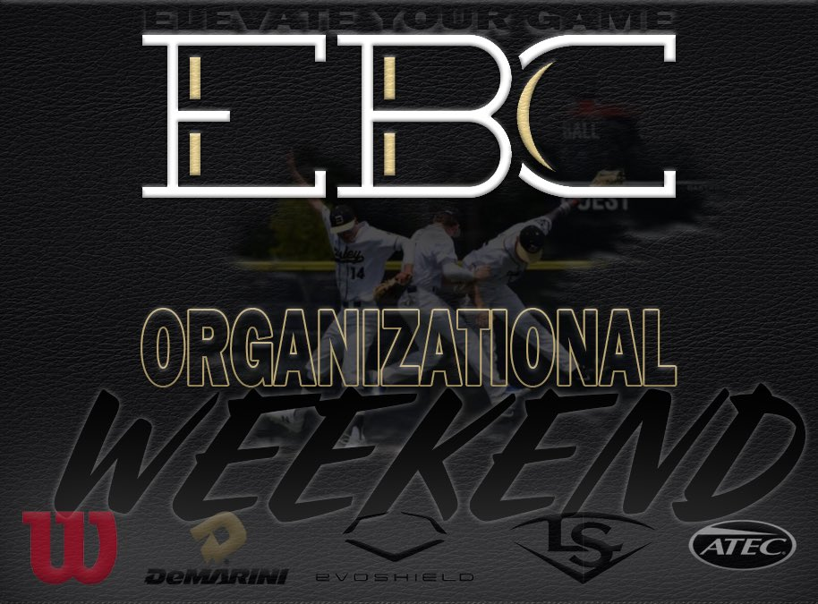 Coming this weekend...come out and support our boys this weekend @GamedayBaseball complex in Cordova,TN. We will be hosting workouts Friday night and our teams will be playing against each other Saturday and Sunday. #experienceEBC https://t.co/wzOArMN5IU