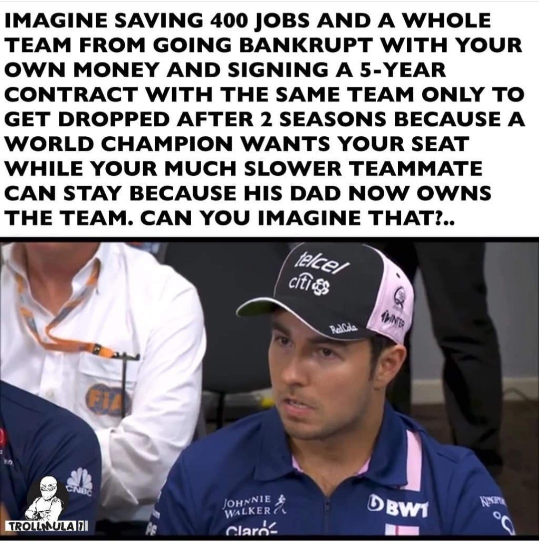 @RacingPointF1 No more Racing Point now: Racing Betrayal. https://t.co/4h1FhniMqc