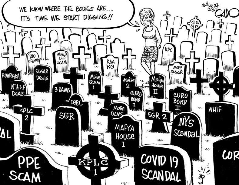 Wanjiku on COVID 19 Scandal and Other Scandals - Gado https://t.co/wnxvVt9sE2 https://t.co/lsDlaAkEly