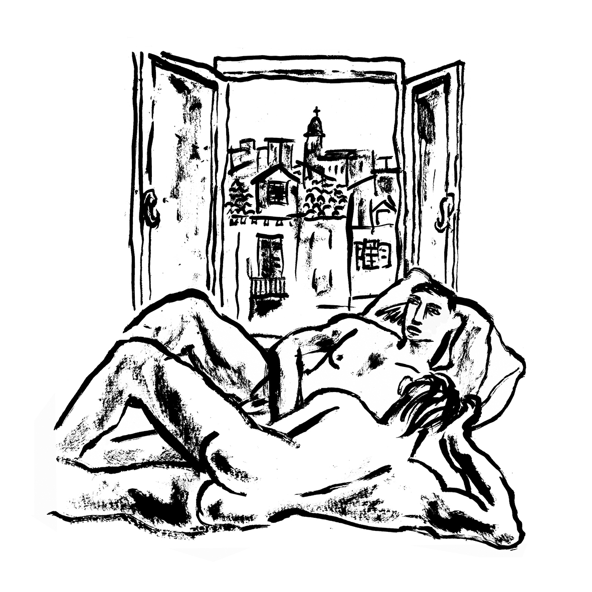 Illustration by #robertlittleford for #danielatsea by @PhilipDundas - A beautiful debut novel published by @BacklashPress - now available in hardback and kindle. Contact me for review copies @gaytimesmag @AttitudeMag #gaynovel #gaybook #gaylove https://t.co/nZyMu7vaON