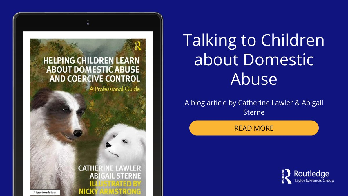 There are concerns about a 'tsunami of need' relating to children who have been living for months with domestic abuse during lockdown. This blog article by @clawlerdv & Abigail Sterne explores how we can talk to these children. Read more https://t.co/uavCJZa6KV https://t.co/StNoowgBN3