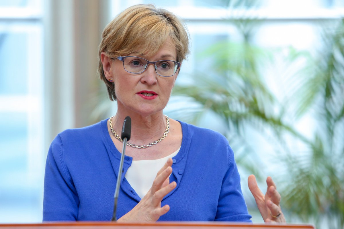🇪🇺 @MaireadMcGMEP from the Irish Party Fine Gael has been appointed commissioner for financial services, stability and capital markets union as Ireland loses the key trade portfolio following the resignation of Phil Hogan👉 https://t.co/Q8jvdm50NA https://t.co/iRkhDBY2Fn