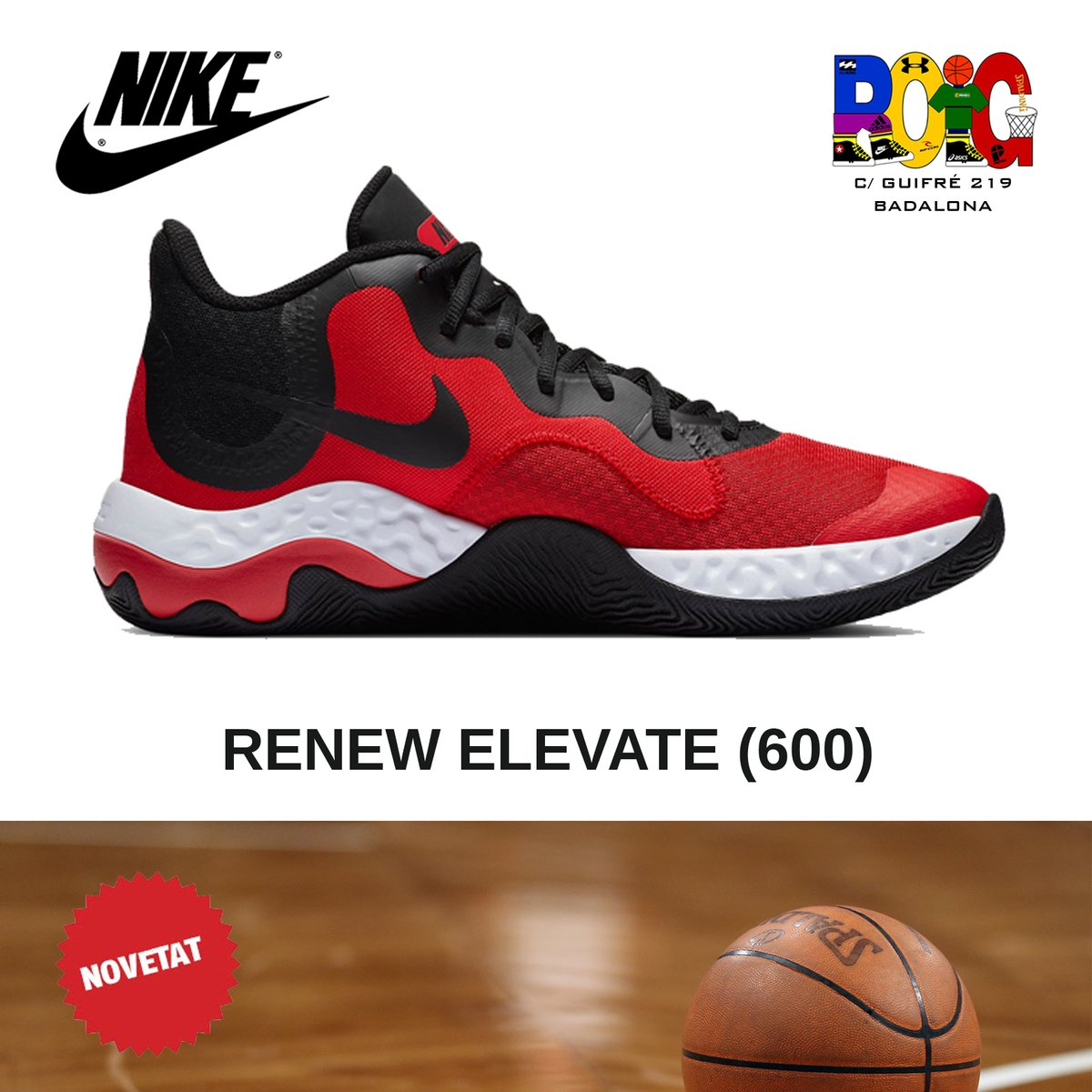 📢 NOVETATS en vambes 👟 de bàsquet 🏀️ per a adults: les Nike RENEW ELEVATE (600) Disponibles a la botiga o a la web 💻 en https://t.co/rh9OWEomOx #nike #bàsquet #jordiroig #badalona https://t.co/HpuClwv5SI