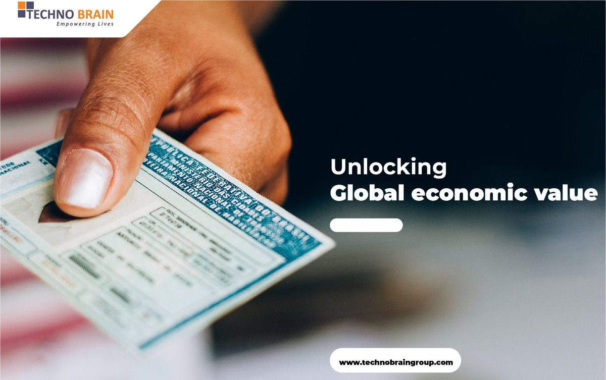"""""""Countries implementing """"good"""" use of #digitalidentification — one that provides ID holders with privacy, security, and the agency could unlock economic value equivalent to 3–13 percent of GDP on average by 2030, according to a recent study on inclusive growth.""""WorldBank https://t.co/zaUNJtNLkV"""