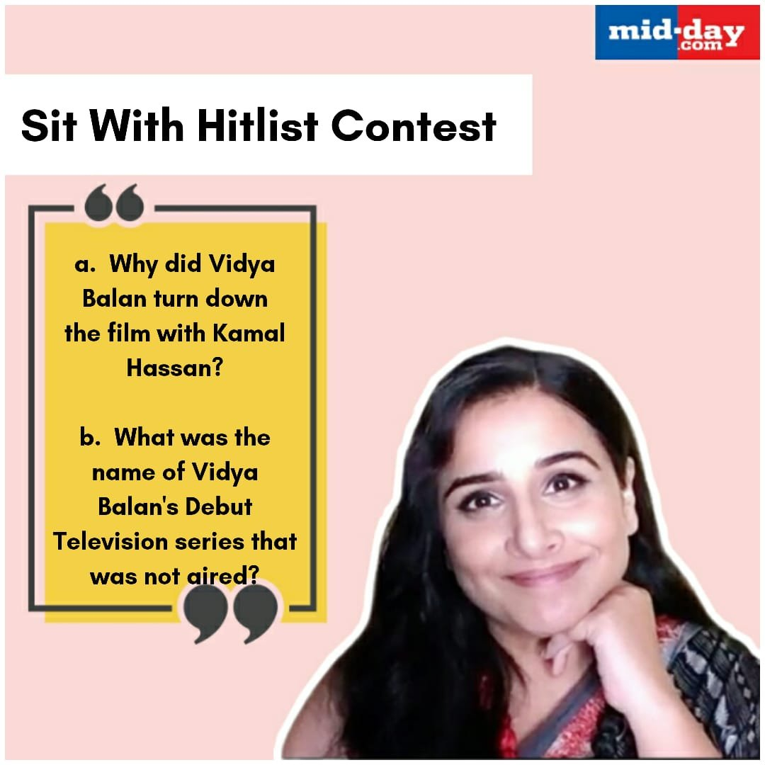 Read the Tncs carefully and answer the questions   (Find your answers here: https://t.co/esNXM05oTG)  #SitWithHitlist #ContestAlert #VidyaBalan https://t.co/21a7bzLcVl