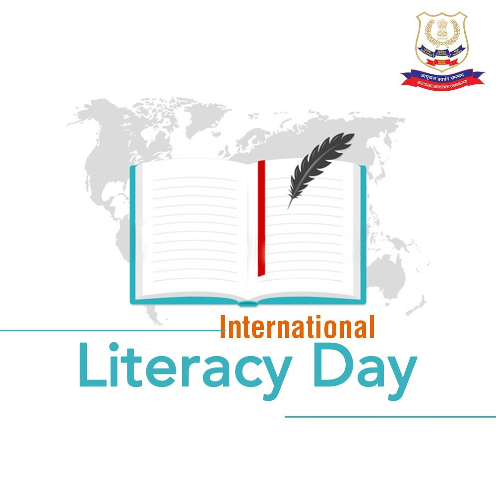 Literacy plays an important role in ensuring individual and community well-being and sustainable development. Lets work together to make education accessible to all and empower the youth to attain the best learning. #LiteracyDay2020 #NCBIndia