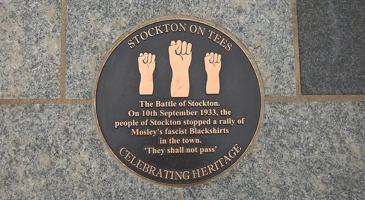 Thread  Today is the anniversary of 'The Battle of Stockton', and if you'll indulge me I'll explain what that was and why it's important we remember and learn from it. https://t.co/rznx4Icpl0
