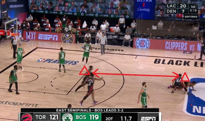 【影片】殺死比賽,拖入搶七!Lowry這一記極限翻身後仰跳投有多強?-籃球圈