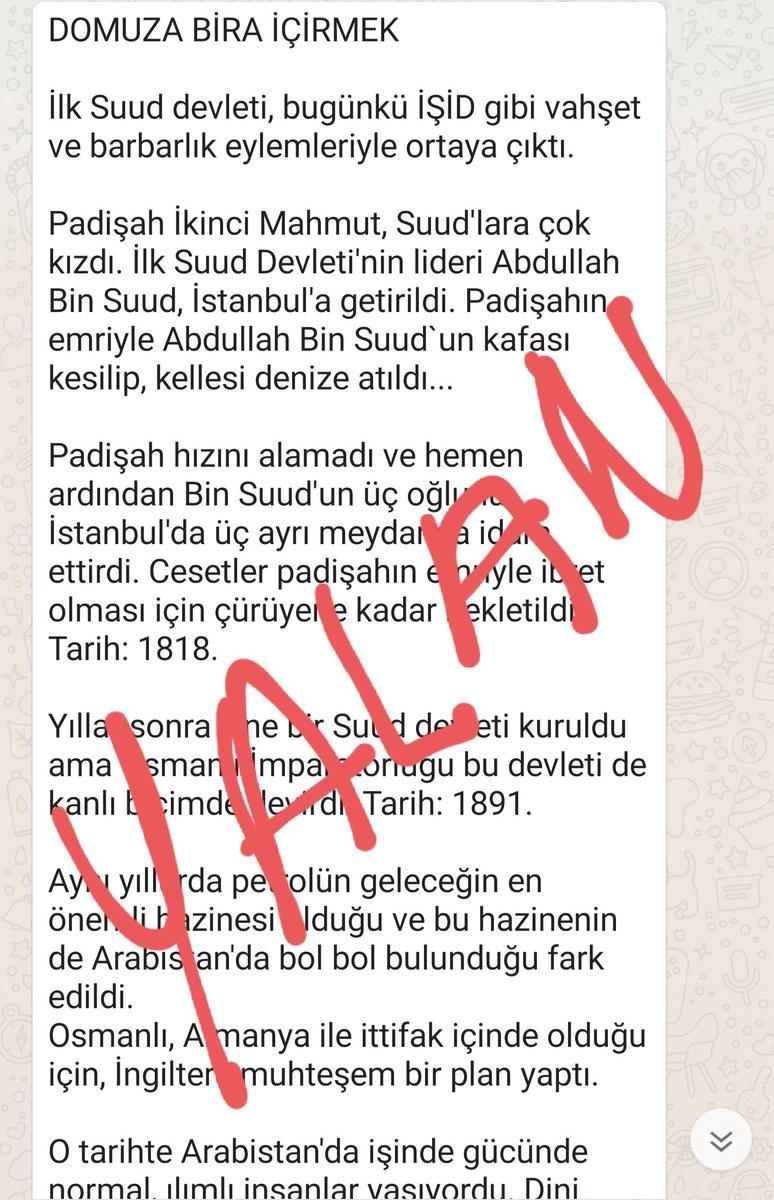 YALAN. Mehmet Demirkol imzasıyla dolanan bu yazı bana ait değil. https://t.co/xyeiIgsLqF