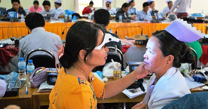 Myanmar Eliminates Trachoma - FHF