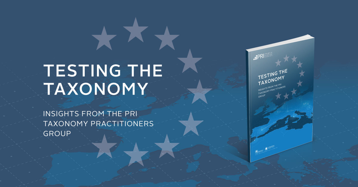 This report is the first comprehensive set of case studies around how to use the #EUTaxonomy, providing advice from financial market participants about their approach to common challenges in implementing the Taxonomy @EU_Finance. Read it here ➡ https://t.co/k8NWSTQ90k https://t.co/gn57YJ5KdN