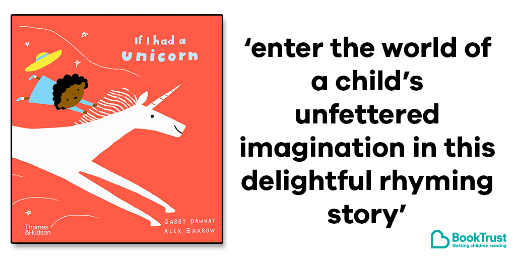 A young girl is dreaming of the perfect pet - and a unicorn might just be it! 🦄   Our #BookOfTheDay is the fantastic, magical  #IfIHadAUnicorn from @GabbyDawnay and Alex Barrow: https://t.co/9VlhVZj5vp https://t.co/zTb34mpy67