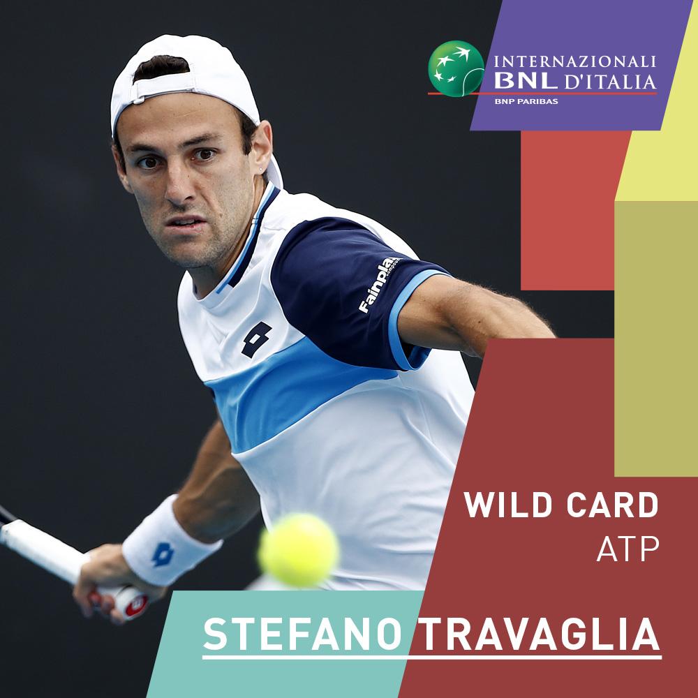 🇮🇹Lorenzo Sonego entra di diritto nel Main Draw degli #IBI20.  La sua Wild Card va a Stefano #Travaglia! 👏 #tennis https://t.co/VYn3swnVfK