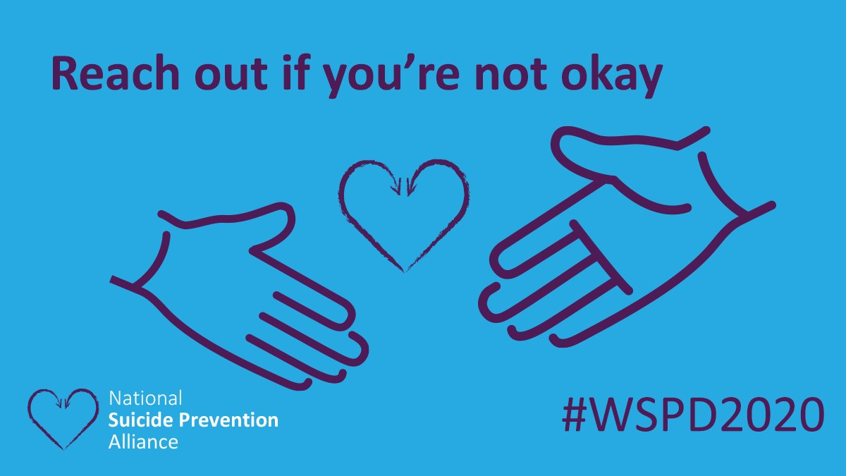 Today is #WorldSuicidePreventionDay & I would like to show my support & help raise awareness across #Ponty, #RCT & beyond  Whether you're struggling yourself, or know someone who is, it's crucial to reach out if you need support.  #WSPD2020 https://t.co/2mKXI8hVqm