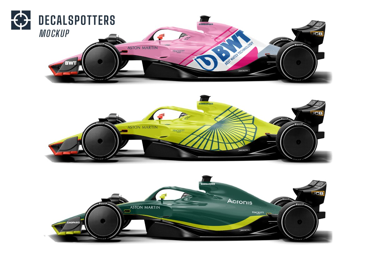 Decalspotters On Twitter Aston Martin F1 Have Two Options For 2021 Keep The Bwt Insignia Or Drop The Pink Entirely As Part Of Bwt S Title Sponsorship The Team Identity Is Obligated