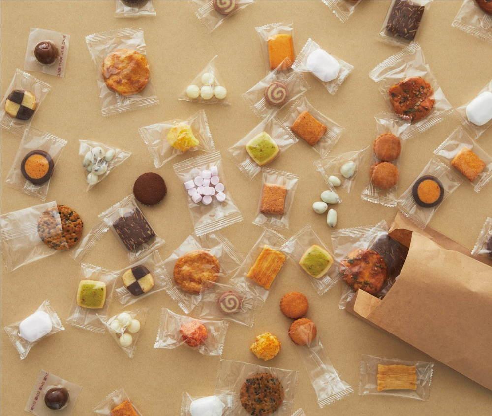「無印良品」一部店舗でお菓子の量り売りスタート - 全28種類が1g=4円、計20gから -