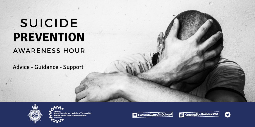 #WorldSuicidePreventionDay  Awareness Hour on our facebook page from 13:00 – 14:00 today ➡️ https://t.co/15YPkhtyzU  ^ch https://t.co/Yyvec1cMZb