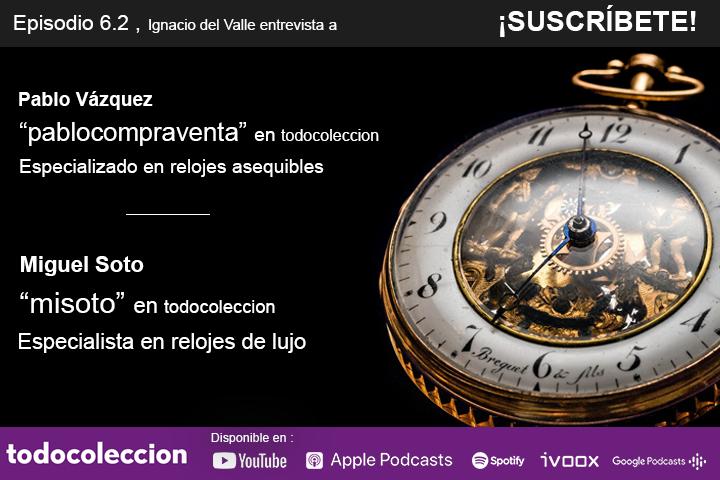 En la Semana del Reloj, del 7 al 13 de septiembre, contamos en nuestro #podcast con la opinión de dos grandes expertos en relojes: Pablo Vázquez, especialista en relojes asequibles y Miguel Soto, especialista en relojes de lujo.  https://t.co/AucR5aTe2W https://t.co/VervXCepyv