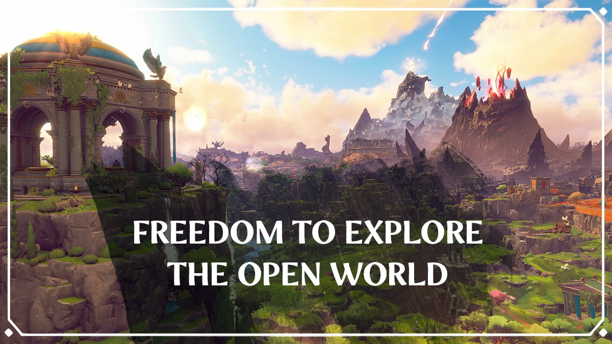 """""""In @FenyxRising, you'll have the freedom to explore this entire open world, as you wish, right from the beginning of your journey.""""  - Scott Phillips, Game Director at Ubisoft Québec https://t.co/ctIofEjt5t"""