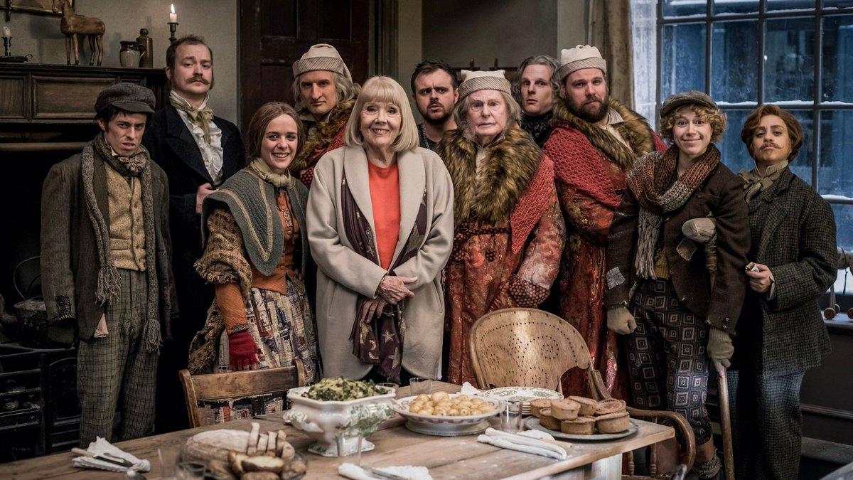 All of us send our love and thoughts to the family and friends of Dame Diana Rigg. We were lucky enough to make Mischief and laugh alongside her on A Christmas Carol Goes Wrong. She will be missed and remembered x