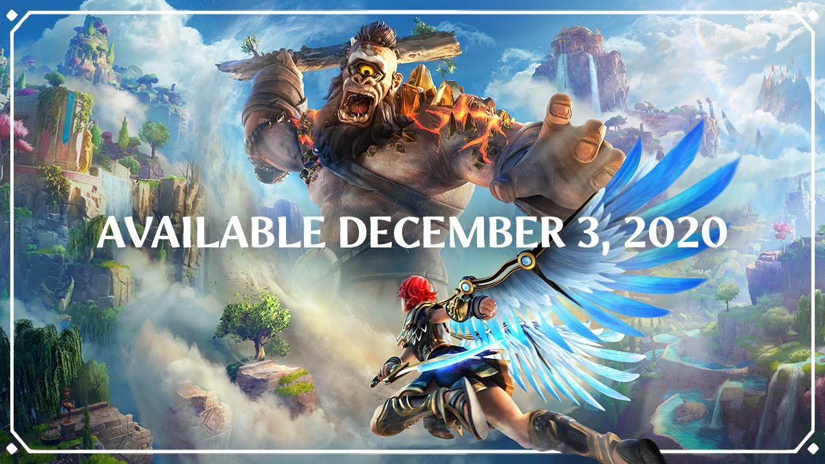 We can now say it loud and proud! @FenyxRising, the game designed, created and developed by hundreds of creators from @UbisoftQuebec will be available on December 3! 🍾🗓️ #UbiForward https://t.co/hWyv4gbJ44