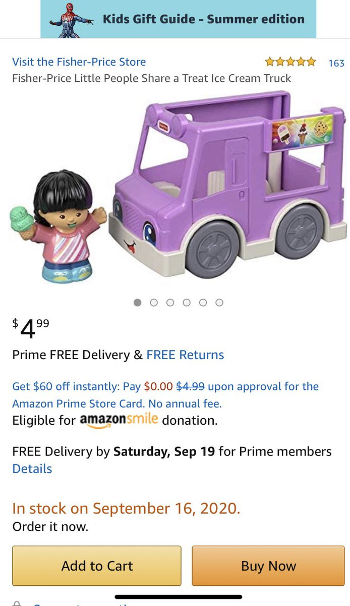 Theres been a price drop. My 2 1/2 year old #preschool class would love this. -#supportteachers #clearthelist #clearthelists #amazon #amazonwishlists @amazon @amazonwishlist @ClearTheListorg https://t.co/qgQzLBamgm #thankyou #IceCream #SocialDistancing #toddlers https://t.co/zZGwRwZCOX