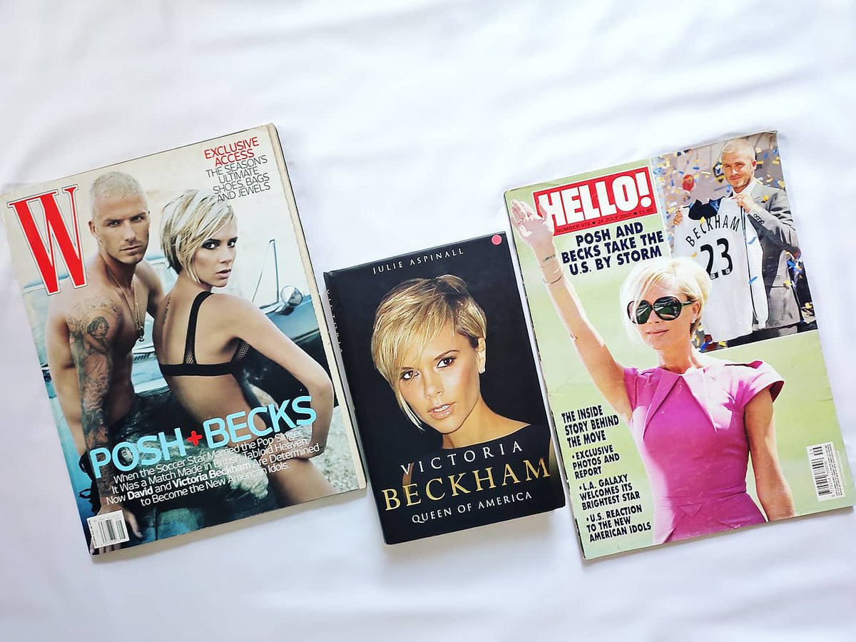 """Remember @victoriabeckham """"Coming to America""""?? 2007 With David Beckham it was a massive media publicity with David began career playing soccer for LA Galaxy, @spicegirls Reunion & they done Photoshoot for US """" @wmag """" , UK @hellomag , a book & the infamous TV Special on @nbc . https://t.co/mokv3C1DsM"""