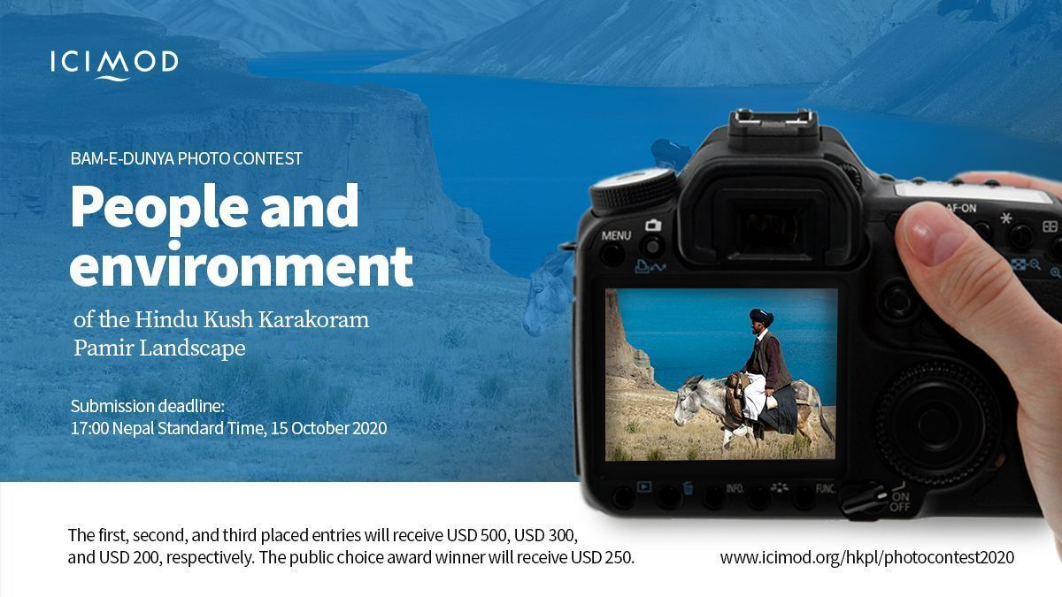 Calling all photographers 📸  Join us in highlighting the treasure trove of the Hindu Kush Pamir landscape by joining the Bam-e-Dunya #Photo #Contest 2020! 📩Submit by 15 Oct ➡️ https://t.co/BphdV5G8J8  #HKH #HKPL #bamedunya #hindukush #karakoram #pamir #people #environment https://t.co/lp70f8xZI6