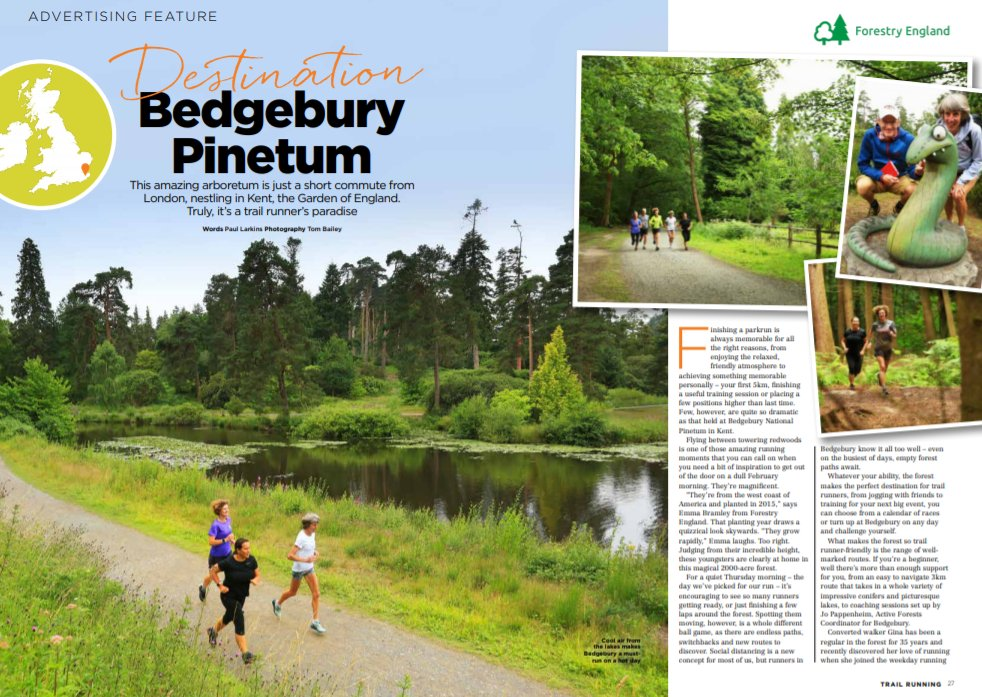 Get the latest issue for our feature on trail running in Bedgebury Pinetum.  @ForestryEngland  https://t.co/H95HrRf9uJ https://t.co/VxHtGRQTZw