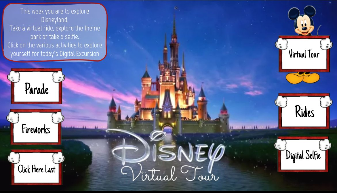 Disney Virtual Tour is now live on my blog. Check it out. Great way to end a term of Remote Learning. https://t.co/Lppy7fIVTm #aussieED #vicpln https://t.co/iTbwboahL2