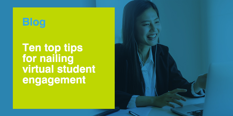 The majority of opportunities to engage university students this autumn will be virtual. ISE's @isherwood_ise offers ten top tips to getting this right.  https://t.co/WedjdtvZBo https://t.co/uVhz0va4QS