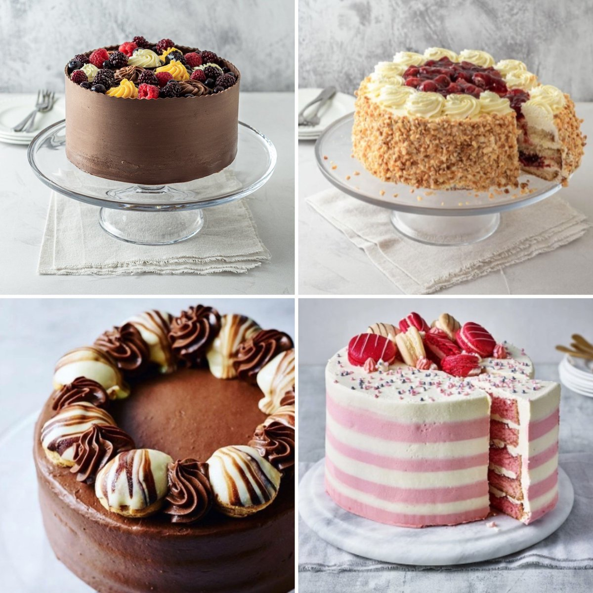 Anyone getting ready for the weekend? ☺️    Your favourite cakes are selling out FAST! Be quick and order your cake whilst they're in stock ready for the weekend. 🍰   Order now: https://t.co/TaOqA9S04U https://t.co/ZArEHd8aex